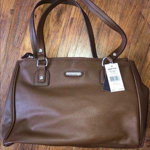Dana Buchman Brown Shoulder Bag